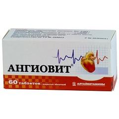 Фото - Вітамінний препарат Ангіовіт
