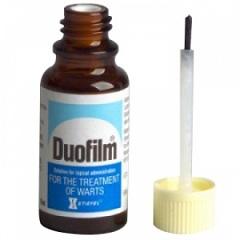 Фото - Лікарська форма Дуофілм - розчин для зовнішнього застосування