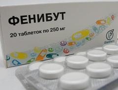 Фото - Лікарська форма Фенибут - таблетки 250 мг