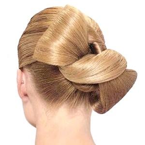 Фото - Фото - як з волосся зробити бантик