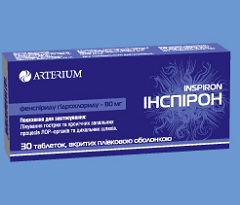 Фото - Таблетки Інспірон для лікування бронхіту