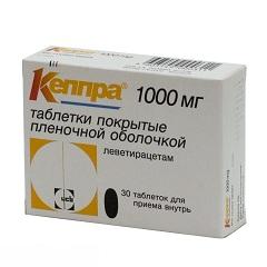 Фото - Таблетки Кеппра 1000 мг