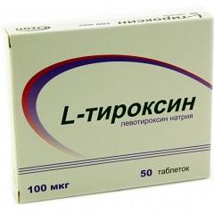 Фото - Таблетки Л-Тироксин 100 мкг