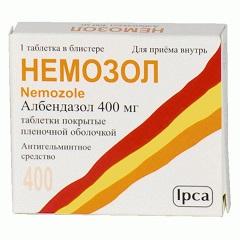Фото - Таблетки Немозол 400 мг