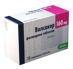 Фото - Таблетки Вальсакор в дозуванні 160 мг
