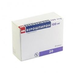 Фото - Капсули Верошпирон в дозуванні 100 мг